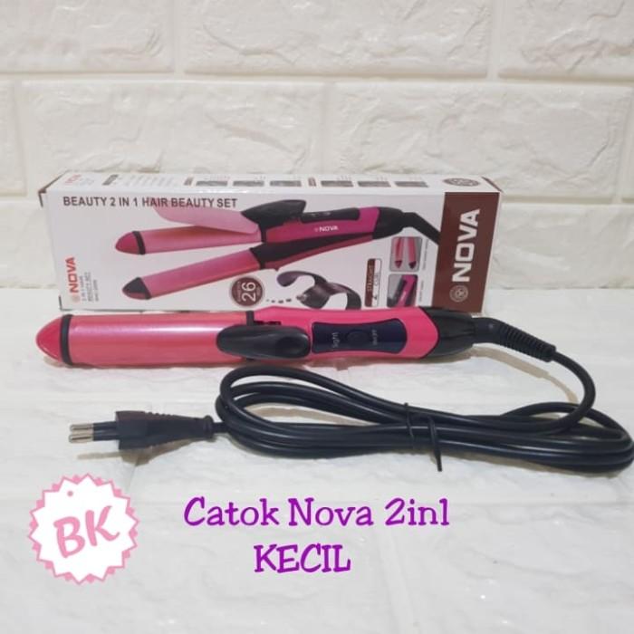 Foto Produk CATOK RAMBUT 2IN1 MEREK NOVA / CATOKAN NOVA 2 IN 1 dari Bandung Kosmetik