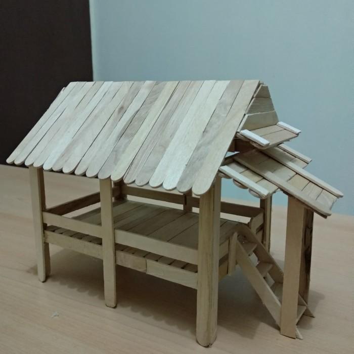 Jual Prakarya Maket Miniatur Rumah Adat Baileo Maluku Dari Stik Es Krim Dki Jakarta Rafkizaf Tokopedia
