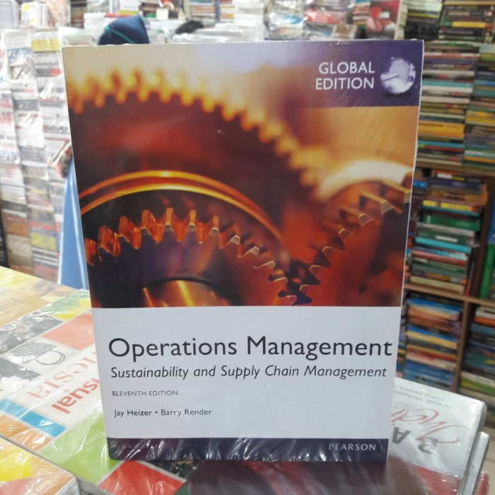 harga Operations management 11th edition by jay heizer and barry render Tokopedia.com