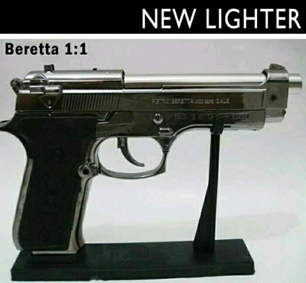 Jual korek api pistol bareta jet silver - Jakarta Timur ...