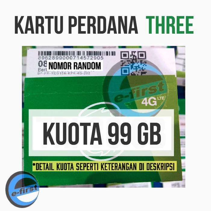 harga Kartu perdana internet three 30gb aon 3gb kuota 3 6 gb tri data 21gb Tokopedia.com