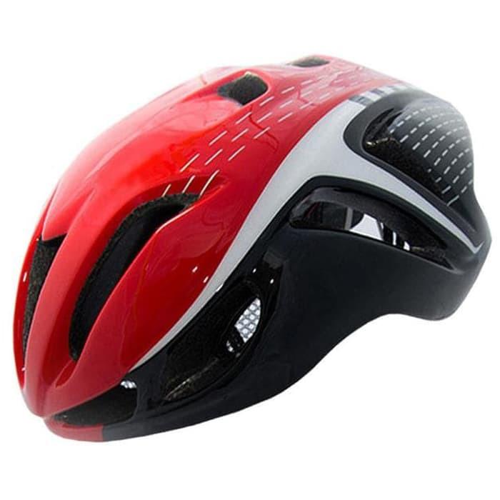 Foto Produk Locle Helm Sepeda - Red/White dari JAG- Adventure Gear