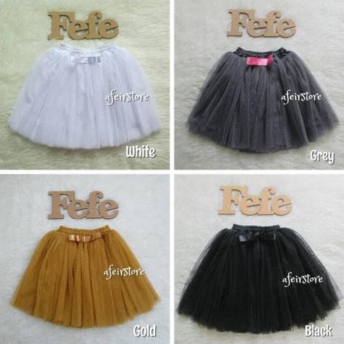 Jual Basic Skirt Rok Tutu Anak 4 5y 4 5 Tahun Jakarta Barat Riana Puspadewi Shops Tokopedia