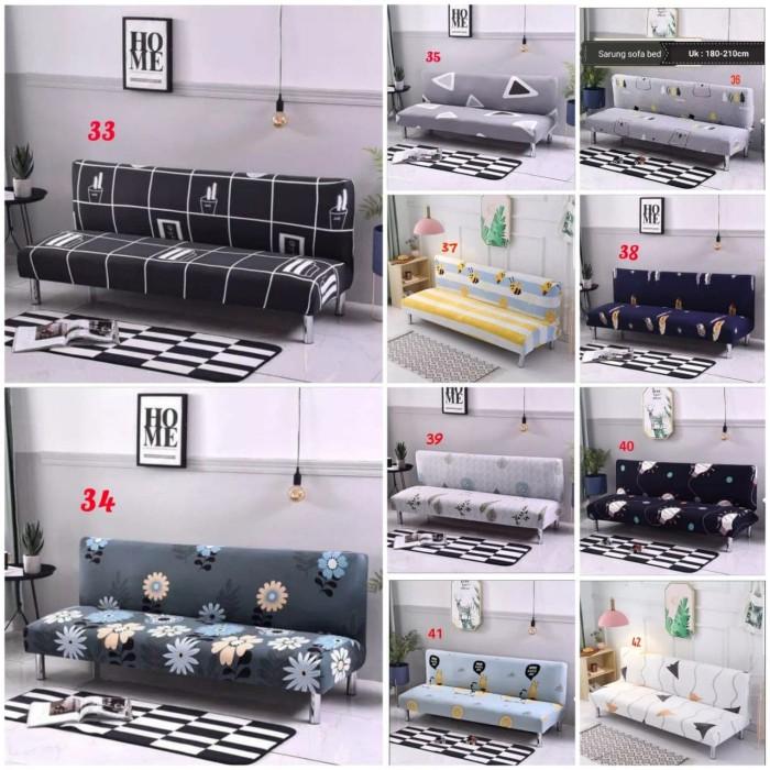 Jual Cover Sofa Bed Elastis Bahan