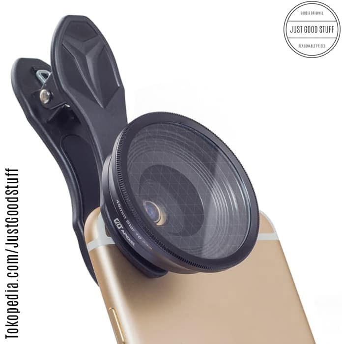 harga Apexel 25mm pro 20x super macro phone lens lensa + star filter Tokopedia.com
