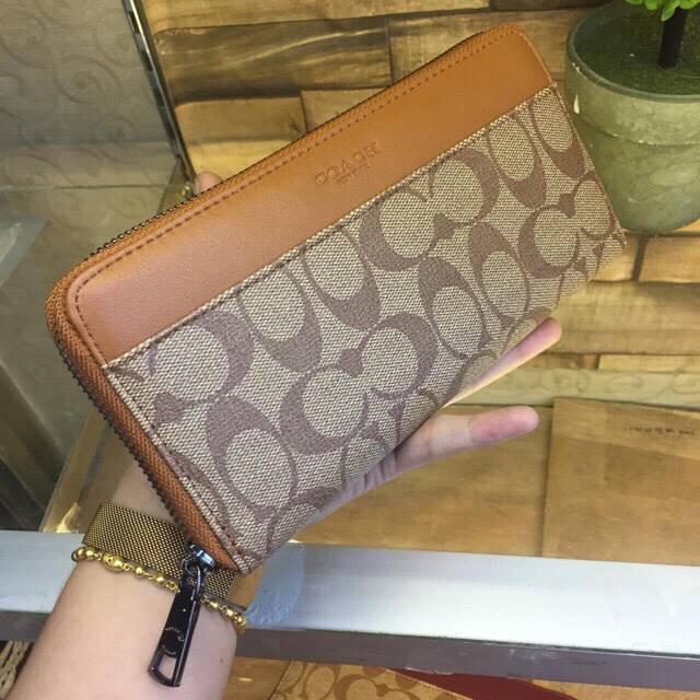 Foto Produk supplier dompet wallet wanita murah import cewek C*ACH Semi Premium - Maroon dari sopaybags