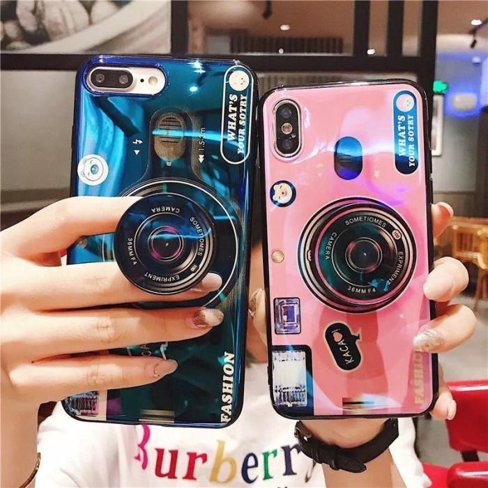 harga Blu ray camera casing soft case with holder realme 3 1 2 pro u1 c1 Tokopedia.com