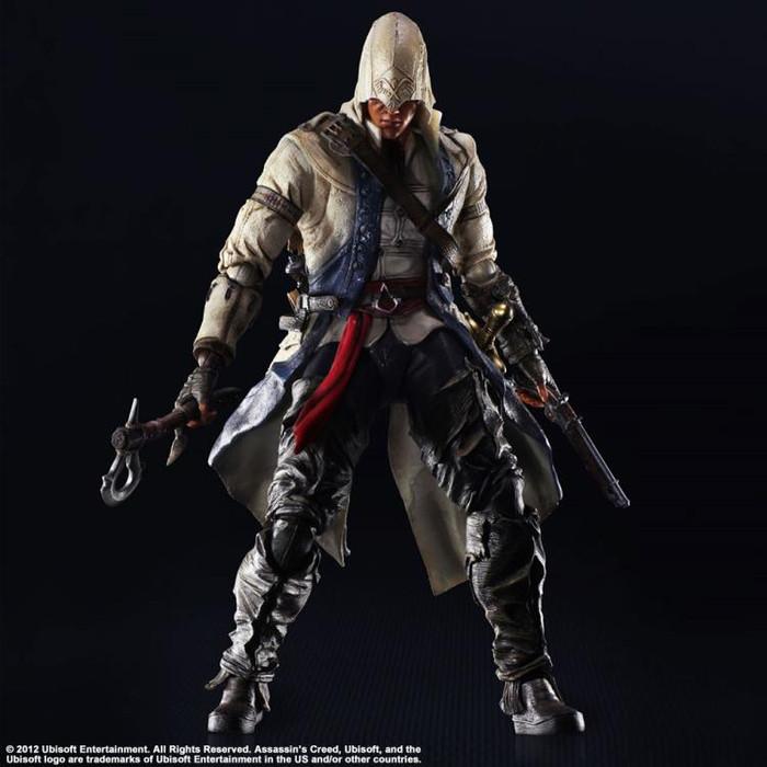 Jual Play Arts Kai Action Figure Assassin Creed Iii 3 Connor