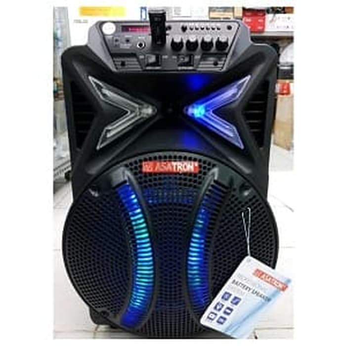 harga Asatron speaker portabel wireless meeting ht 8880 ukm 12 inch Tokopedia.com