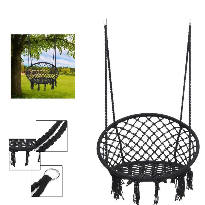 Jual Active Outdoor Hanging Hammock Woven Rope Chair Seat Indoor Bedroom Jakarta Barat Activity Store Tokopedia