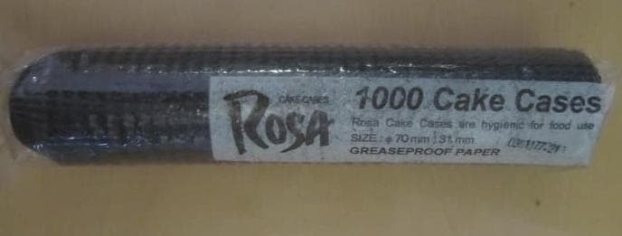 Foto Produk Promo Cup Kue Kertas 70Mm Lapis Minyak (1000Lbr) Berkualitas dari tamariafel shop