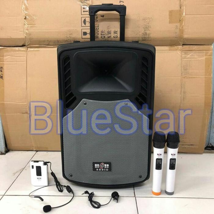 harga Speaker portable amplifier wireless bob audio b mu 12 (12 inch) Tokopedia.com