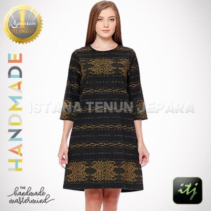 harga Batik tenun troso dress etnik cantik Tokopedia.com