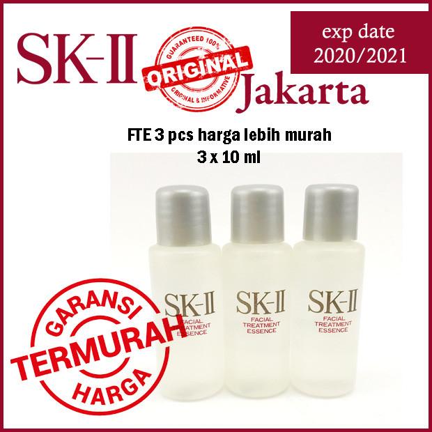 harga (dapat 3pcs) sk-ii fte 10ml facial treatment essence 10ml x 3pc Tokopedia.com