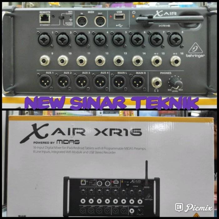 harga Behringer xr16 xr-16 xr 16 x air mixer digital wireless via wifi ipad Tokopedia.com