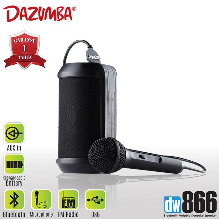 Foto Produk Dazumba DW866 Portable Karaoke Speaker Bluetooth - Hitam [FS] dari Kenkez-com