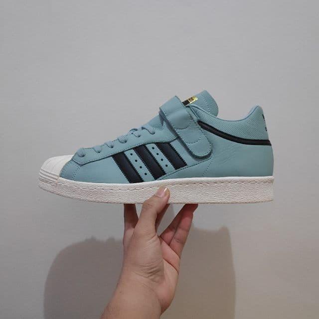 huge discount fca1f 8bb94 Jual Adidas Superstar 80s Green List Black Velcro (BNWB) - Kota Tangerang -  KICKSSTORE | Tokopedia