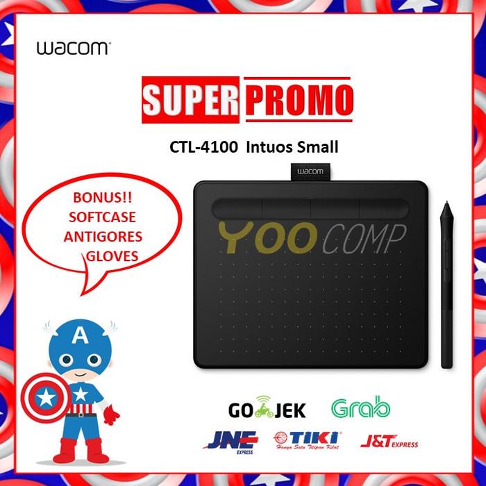 harga New wacom ctl-4100 intuos small Tokopedia.com