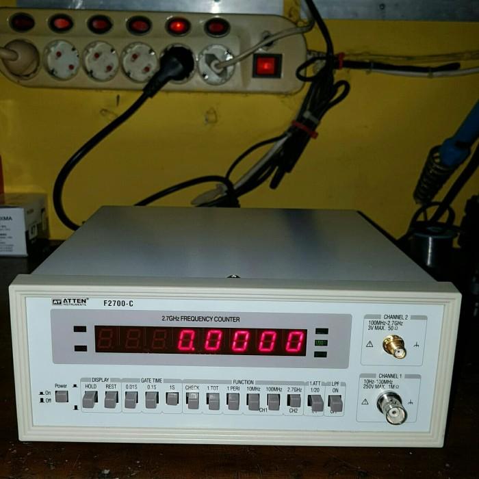 Foto Produk Frequency Counter 2.7GHz merk ATTEN type F2700-C dari UAV