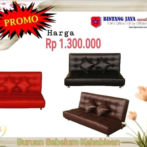 Jual Sofa Bed Merah Kota Bandung