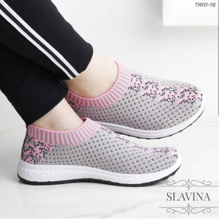 Jual Slip On Wanita Sepatu Olahraga Running Wanita Tanpa Tali