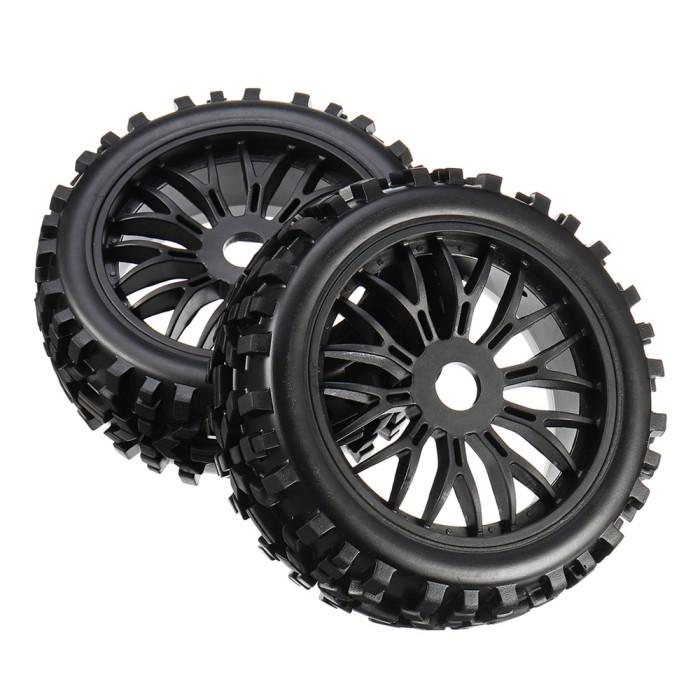 Cheap Car Tires >> Jual Very Cheap 2pcs 17mm Tyre Tires Wheel For 1 8 Rc Car Off Road Monster Jakarta Pusat Azza Bahir Tokopedia
