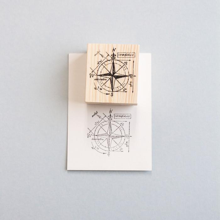 Foto Produk Compass Rubber Stamp dari gudily