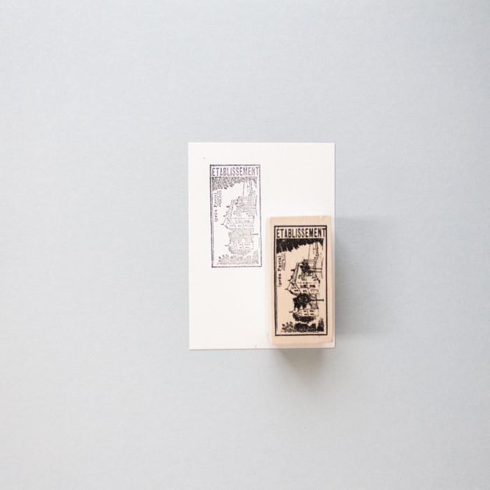 Foto Produk Vintage Look Paris Neighborhood Rubber Stamp dari gudily