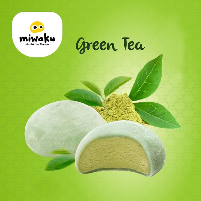 Foto Produk Miwaku Mochi Ice Cream Green Tea (isi 3pcs) dari Miwaku Indonesia