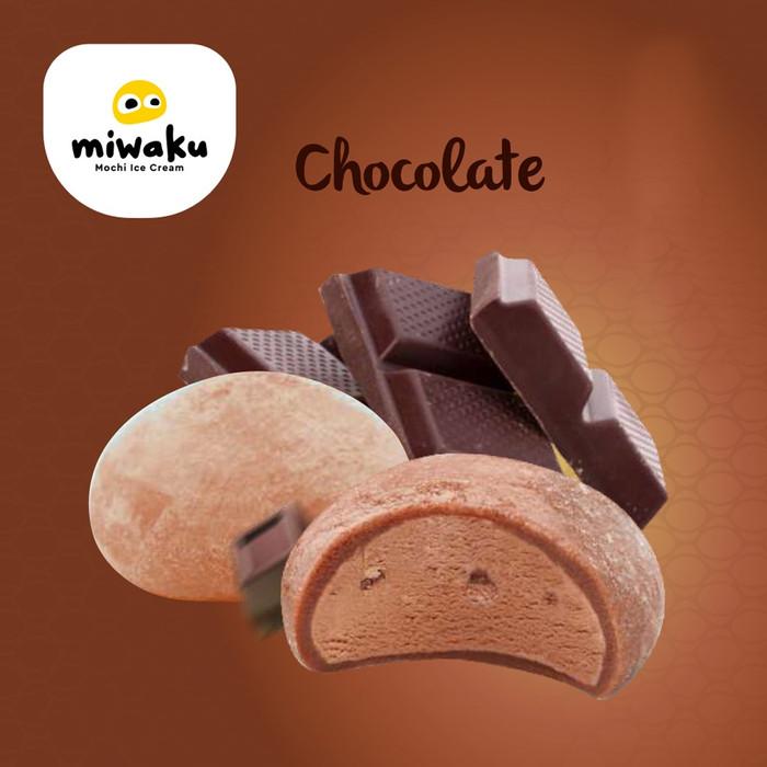 Foto Produk Miwaku Mochi Ice Cream Chocolate (isi 3pcs) dari Miwaku Indonesia