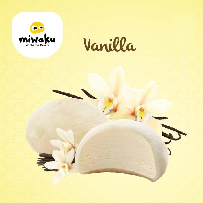 Foto Produk Miwaku Mochi Ice Cream Vanila (isi 3pcs) dari Miwaku Indonesia