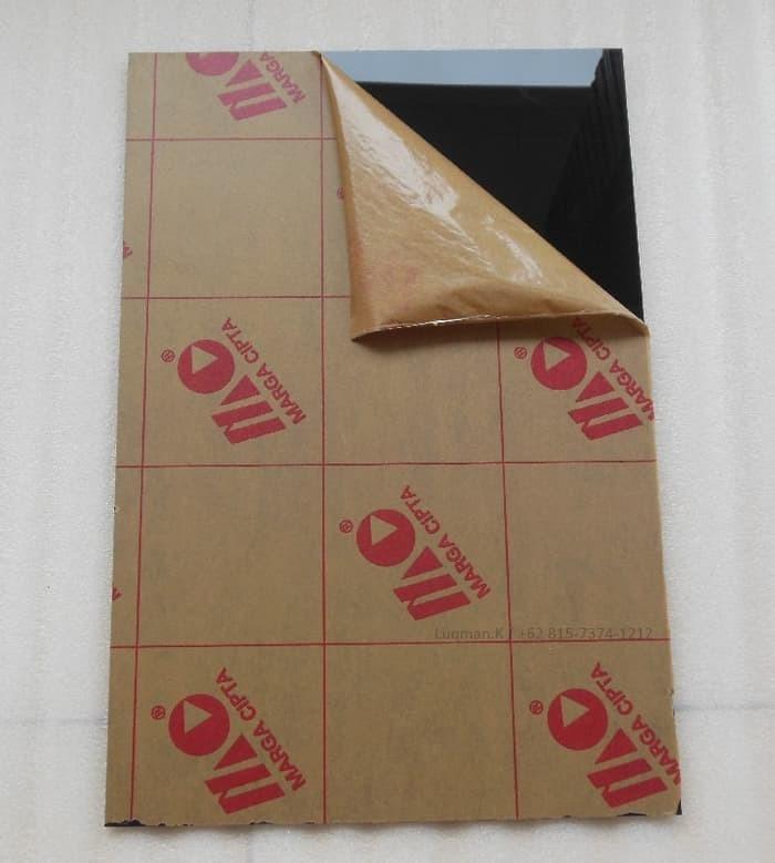 Foto Produk Bahan Pickguard Black 1 Ply dari Zeb Hobbies Store