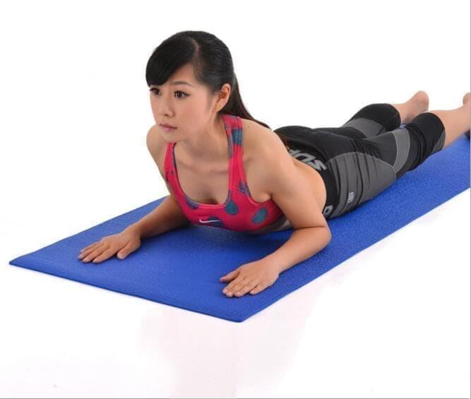 Foto Produk Matras Yoga / Yoga Mat / bonus tas / sarung dari evencio shop