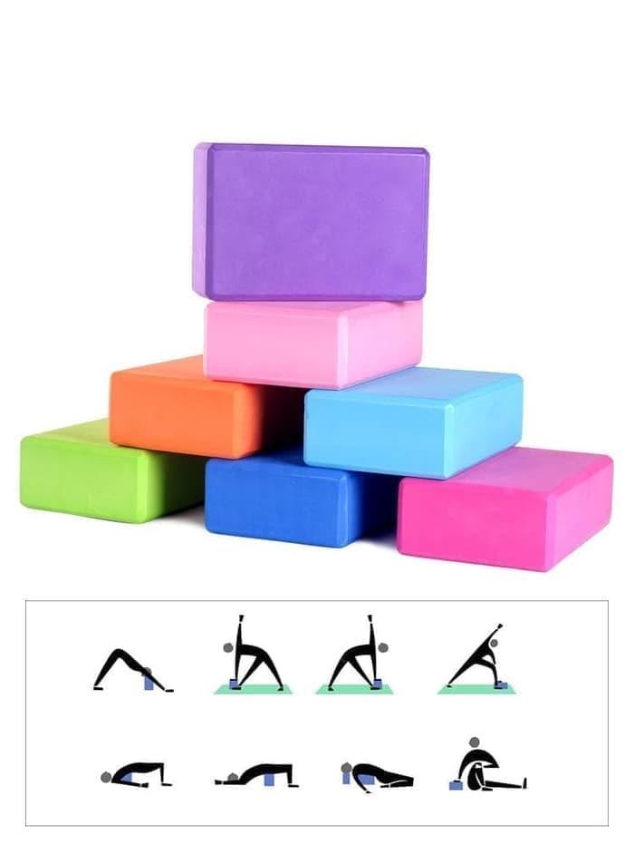 Foto Produk Balok Yoga Yoga Brick Yoga Block dari evencio shop
