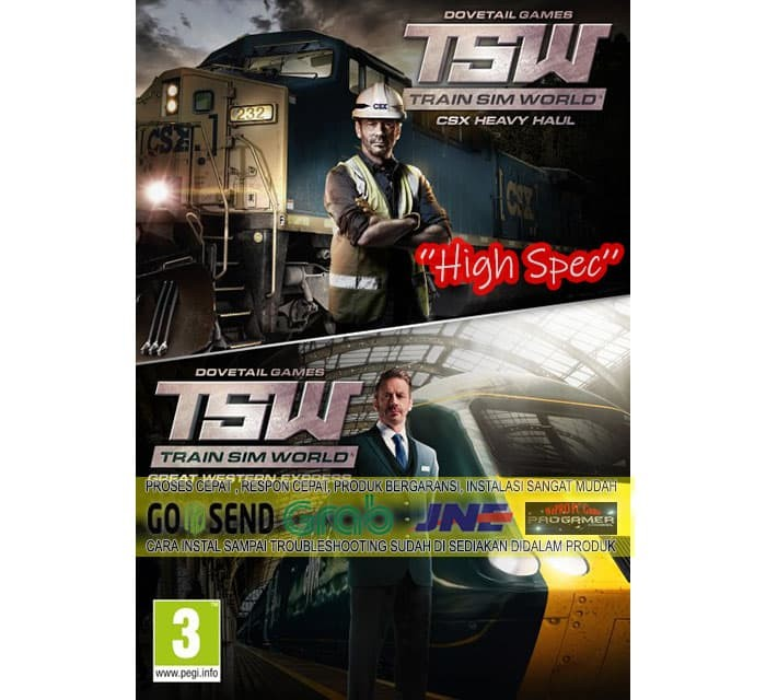 Foto Produk TRAIN SIM WORLD + ALL DLC CD DVD GAME PC GAME GAMING PC GAMING LAPTOP dari WEPRO-SHOP