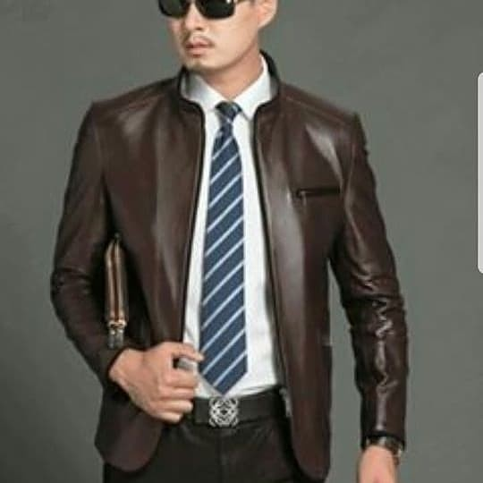 860 Model Jaket Kulit Pria Formal Terbaru