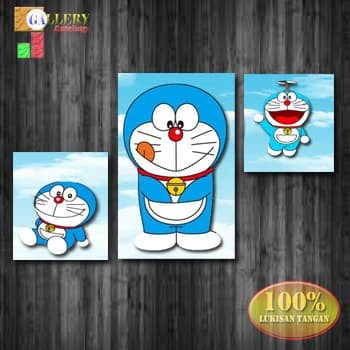 Jual Hiasan Dinding Doraemon Lukisan Tangan By Gallery Artshop