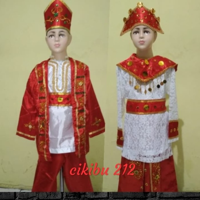 Jual Baju Adat Maluku Anak Jakarta Timur Cikibu212 Tokopedia