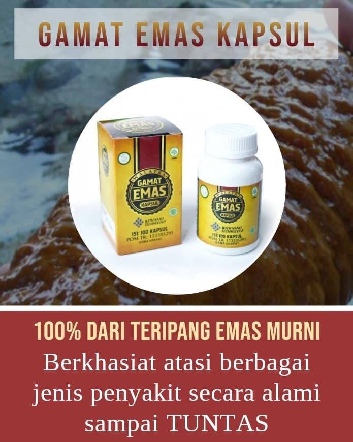Foto Produk Walatra Gamat Emas Kapsul Asli Dengan Nanotechnology - Herbal Alami dari Azka Herbal Store