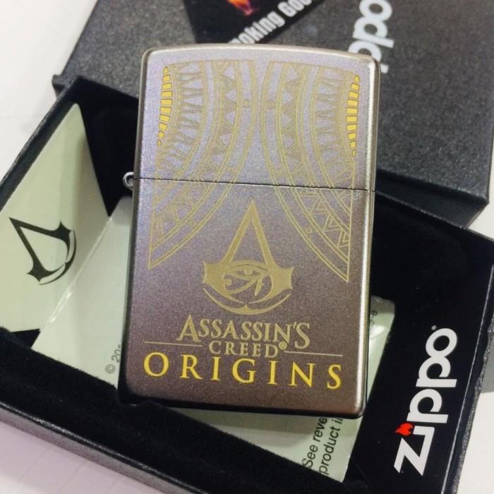 Jual Original Zippo Assassin S Creed 29785 Jakarta Barat