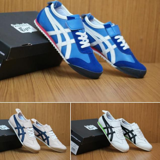 wholesale dealer bca57 957a9 Jual Sepatu Sneakers Asics Onitsuka Velcro Women Premium High Quality -  Jakarta Selatan - A3Sports | Tokopedia