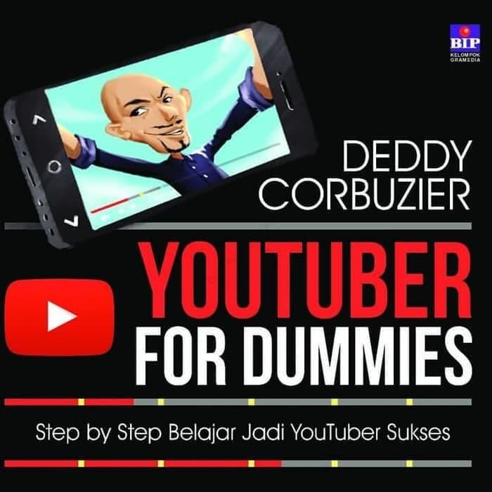 Jual HOT PRODUCT BUKU YOUTUBER FOR DUMMIES DEDDY CORBUZIER