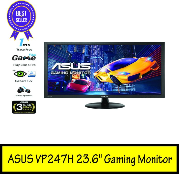 harga Asus vp247h 23.6  gaming monitor Tokopedia.com