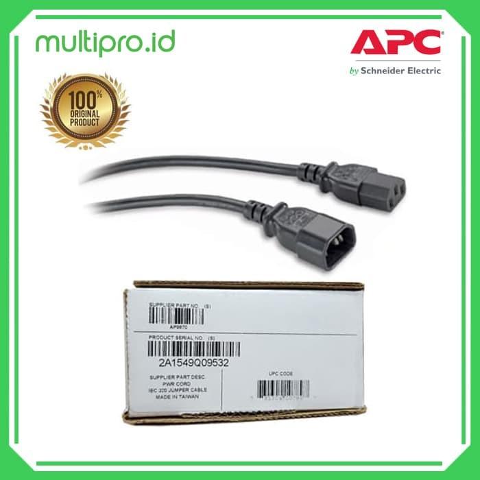 APC AP9870 2.5m C13 to C14 Power Cord