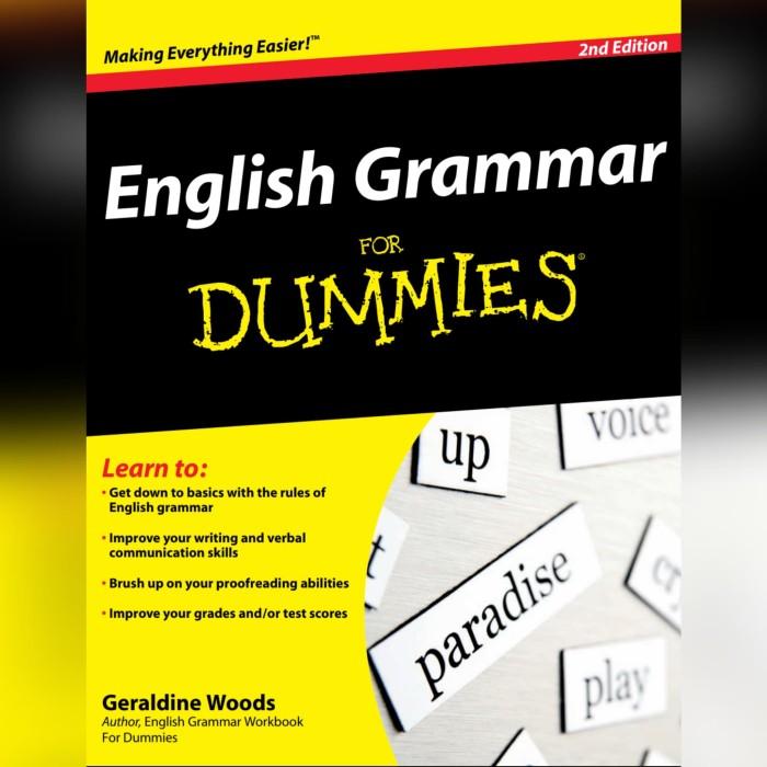 Foto Produk Buku English Grammar for Dummies dari Azalia Jaya