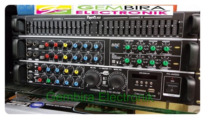 Jual Ampli bluetooth firsclass FC A4000 BBE PROCESSOR power amplifier mixer  - Jakarta Barat - Gembira Electronik | Tokopedia