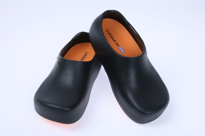 Foto Produk Stico Chef Shoes Sepatu Koki Sepatu Dapur Harga Distributor - Hitam, 35 dari Sticosafetyshoesofficial