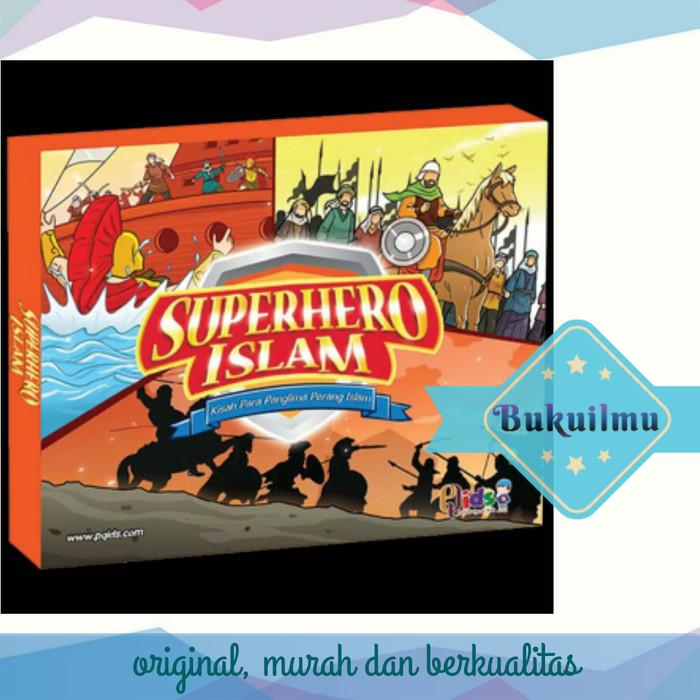 harga Superhero islam kisah para panglima perang islam. perisai quran qids Tokopedia.com