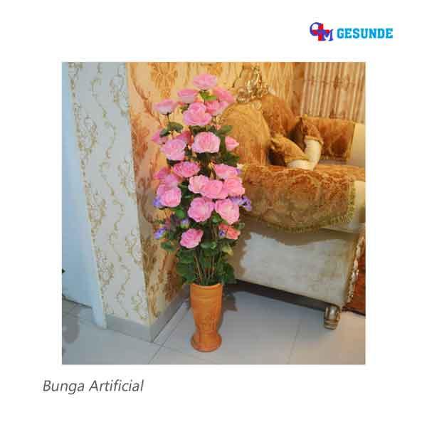 Jual Bunga Hias Plastik Dekorasi Ruang Tamu Bunga Replika Pot Keramik Kota Bekasi Gesunde Tokopedia
