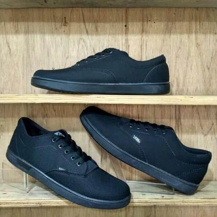 Foto Produk Sepatu Vans Era Authentic Hitam Polos Sepatu Sekolah Sepatu Kerja dari stand up colection